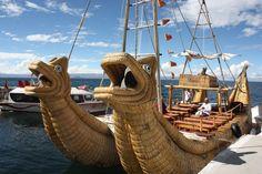 Barco de Totora
