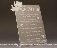 Risultati immagini per marque place mariage theme ange