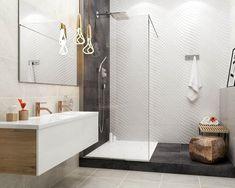 Nowoczesna, nieduża łazienka z prysznicem