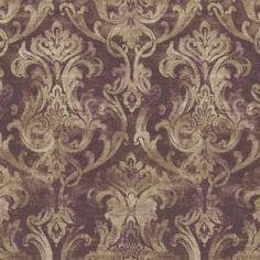 ARS26037 texture , damask , faux  Wallpaper