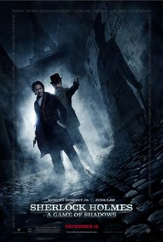 Adventures in Streaming Video: Sherlock Holmes: A Game of Shadows (2011). Thrilling Goofy fun