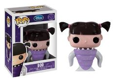 "Disney Pop! Vinyl #20 - Boo by Funko. $8.99. approx. 3"" tall. vinyl figure. #20 in series. Monsters Inc. ""Boo"" vinyl figure, Disney Pop! #20. Ages 4 and up."