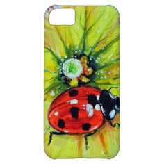 Ladybug iPhone Cases, Ladybug Cases for the iPhone 5, 4 & 3