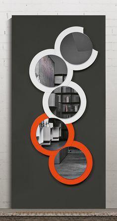 Wall-mounted round mirror | www.bocadolobo.com | #luxuryfurniture #mirrorideas