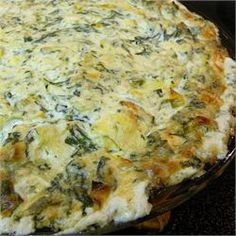Veronica's Hot Spinach, Artichoke and Chile Dip - Allrecipes.com Followed exactly and it was a bit too vinegary and salty. Next time will rinse the canned foods first. Abs definitely add garlic. Maybe swap the mayo for door cream