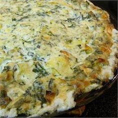 Veronica's Hot Spinach, Artichoke and Chile Dip - Allrecipes.com