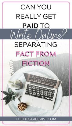 Let's debunk the 5 common myths that are causing you to question whether you can really get paid to write online: Myth Freelancing requires. Writing Jobs, Writing Advice, Writing A Book, Work From Home Opportunities, Work From Home Jobs, Way To Make Money, Make Money Online, Start A Business From Home, Writing Portfolio
