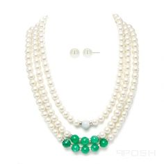 Global Wealth Trade Corporation - FERI Designer Lines Pearl Necklace Set, Selling On Pinterest, Luxury Jewelry, 18k Gold, Turquoise Necklace, Lobster Clasp, Jewelery, Jewelry Accessories, Quartz