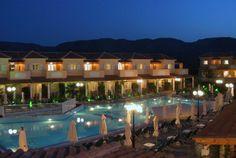Zefyros Hotel Pool Area Night - Book Now Your Zante Holidays in Zefyros Hotel by Visiting the Following Link: http://www.zantehotels4u.com/english/main/hotels/details/Zefyros-Hotel/128