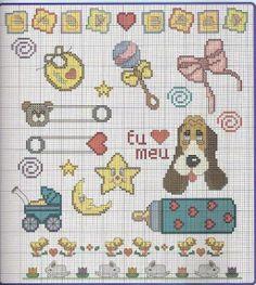PinarOrguModaEvi: Etamin hayvan figürlü şablon örnekleri Cross Stitch Embroidery, Cross Stitch Patterns, Perler Beads, Baby Kids, Kids Rugs, Baby Born, Kylie, Announcement, Sticker