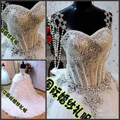 1000 images about wedding dresses on pinterest bling for Bling corset mermaid wedding dresses