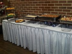 Appetizers station