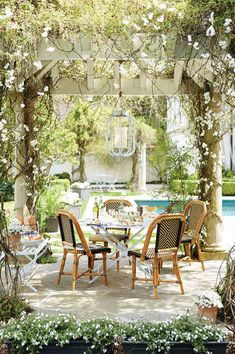 A lovely outdoor space that's perfect for entertaining