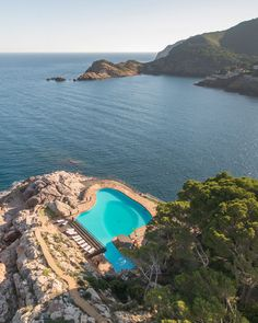 Hotel Cap Sa Sal, near Begur, Catalonia, Spain - book through i-escape.com || An adults-only escape in the Costa Brava, where sustainable design meets barefoot luxury