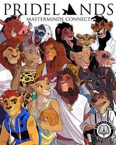 """Un artiste a transformé les personnages du dessin animé """"Le Roi Lion"""", et le résultat est bluffant"""
