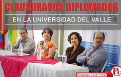En las instalaciones de la Universidad del Valle, sede norte del Cauca, se realizó la ceremonia de graduación de 50 participantes que asistieron constantemente a los diplomados de 'Pedagogías Técnicas y Tecnologías en contextos socioculturales' y 'Evaluación y Competencias, una Experiencia de Formación en el Ámbito de la Técnica y  Tecnológica'  [http://www.proclamadelcauca.com/2014/11/clausurados-diplomados-en-la-universidad-del-valle.html]