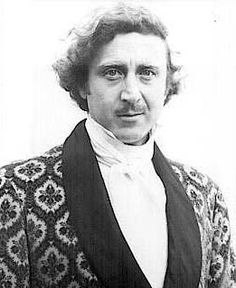 love gene wilder...this is what we call my youngest son when he wakes up with messy hair in the morning!