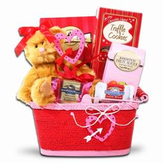 Beary Loveable Gift Basket | Valentines Day Gifts | Arttowngifts.com