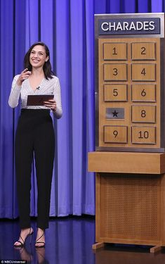 Beaming: Gal Gadot, 32, became friendly rivals with Patty, 46, as they went head-to-head i...