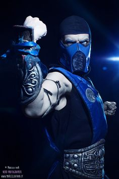 Sub-Zero Mortal Kombat 9 Cosplay by Leon Chiro by LeonChiroCosplayArt on deviantART