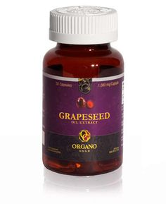 Organo Gold GRAPE SEED OIL. Organo Gold Grape Seed Oil captures the natural goodness of this incredibly versatile gift of nature. Hailed for millennia for its enriching properties, grape seed oil is an excellent antioxidant, and is naturally rich in a number of phytochemicals and essential fatty acids.