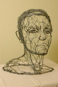 Alexander calder inspired wire sculpture advanced class project ideas in 20 Sculpture Lessons, Sculpture Projects, Sculpture Art, Art Projects, Wire Sculptures, Sculpture Portrait, Abstract Sculpture, Bronze Sculpture, Sculpture Ideas