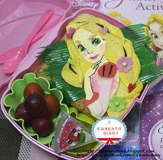 Bento#April16A~Tangled Rapunzel