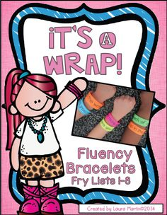 Wordless Wednesday-Fluency Bracelets