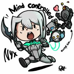 Nyx Mind Controlling - Warframe
