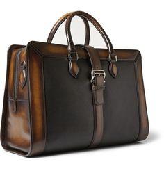 Berluti Venezia Leather Weekend Bag