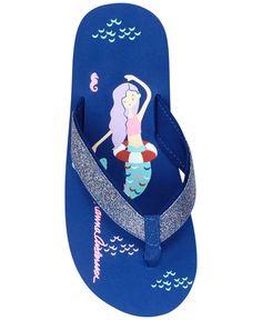 Hanna Andersson Art Flip-Flop Sandals, Toddler & Little Girls (4.5-3)