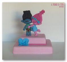 Trolls - Cake by Il Mondo di TeMa