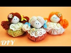 How to make Doll Doll / How to make Textil Doll / ✿ NataliDoma Sewing Crafts, Sewing Projects, Sewing Hacks, Diy And Crafts, Crafts For Kids, Homemade Dolls, Make Tutorial, Fairy Dolls, Dolls Dolls