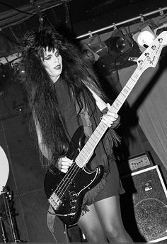 Patricia Morrison of The Gun Club performing at the Peppermint Lounge in NYC, 11 November 1982 Lounges In Nyc, 80s Big Hair, Patricia Morrison, Sisters Of Mercy, Women In Music, Cultural, Post Punk, Role Models, Girl Photos