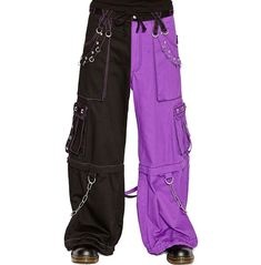 Tripp Men's Electro Rave Skater Techno Industrial Goth Baggy Pants (S) Punk Outfits, Cool Outfits, Fashion Outfits, Casual Outfits, Trash And Vaudeville, Goth Pants, Alternative Outfits, Cute Fashion, Aesthetic Clothes
