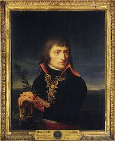 Portrait of Napoleon Bonaparte, his hands resting on the hilt of a sword, before a landscape oil painting reproduction by Andrea, the Elder Appiani French History, European History, Art History, Adele, Napoleon French, First French Empire, Napoleon Josephine, French Revolution, Oil Painting Reproductions