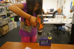 Kid-Friendly Toronto Creativity at MakerKids - Toronto Mom Now Programming For Kids, Drill, Toronto, Creativity, Mom, News, Hole Punch, Kids Programs, Drills