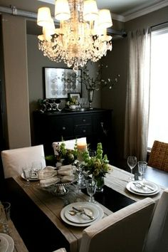 sideways table runners - Google Search