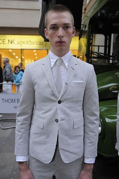 Thom Browne SS13 - like the cut and pocket details