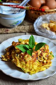 Violet's Kitchen ~♥紫羅蘭的爱心厨房♥~ : 菜脯蛋 Taiwanese Omelette with Dried Radish