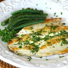 Savoring Time in the Kitchen: Grilled Rainbow Trout with Lemon Parsley Butter (shows you how to prepare whole fish)