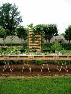 Waist high gardening