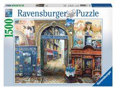 Ravensburger Puzzle - Passage To Paris (1500Pcs.) (16241) Manufacturer: Ravensburger Enarxis Code: 017730 #toys #puzzle #Ravensburger #Paris #France