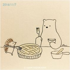 Who wants pie?! ©Nami Nishikawa
