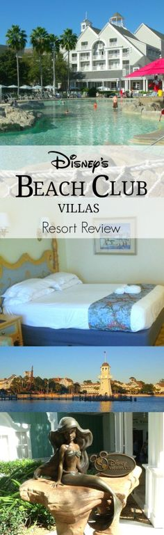 Disney's Beach Club Villas resort room and pool review - The Frugal South