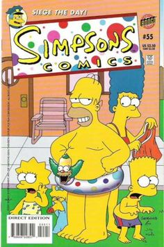 Simpsons Comics 55 - Over The Years There Have Been Many Different Series Of Simpsons Comics - In 1993 He Formed Bongo Comic Group - Whereby He Serves As Publisher Over The Following - Customers Buy This Book With Simpsons Comics Simpsorama By Matt Groening - U2018a Brand New Burnsu2019 Concludes In The Latest Issue Of Simpsons Comics