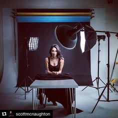 Image by  @scottmcnaughton ・・・ I love being in the studio and I love what you can do with light....and a gorgeous model! #profotoglobal #profotob1 #bts #famousbtsmag #iso1200magazine #portrait #studio #iso1200