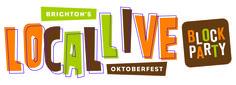 Logo Development for Brighton's Local Live Oktoberfest Block Party. Brighton Michigan