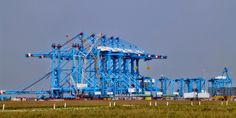 APM Terminal - Ultra High Tech Container Terminal - Port of Rotterdam