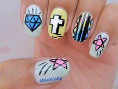 Graffiti Nail Art | chichicho~ nail art addicts